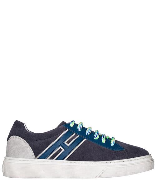 Детская обувь мальчик кроссовки замша r340
