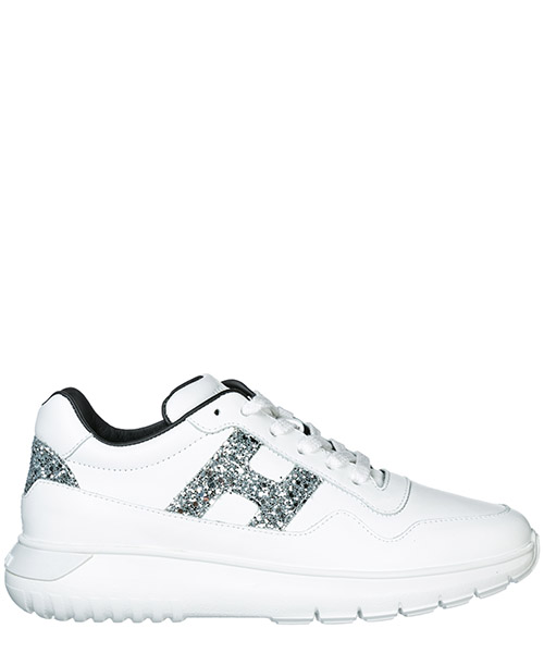 Sneakers Hogan Interactive³ HXC3710AP30I640351 bianco - argento