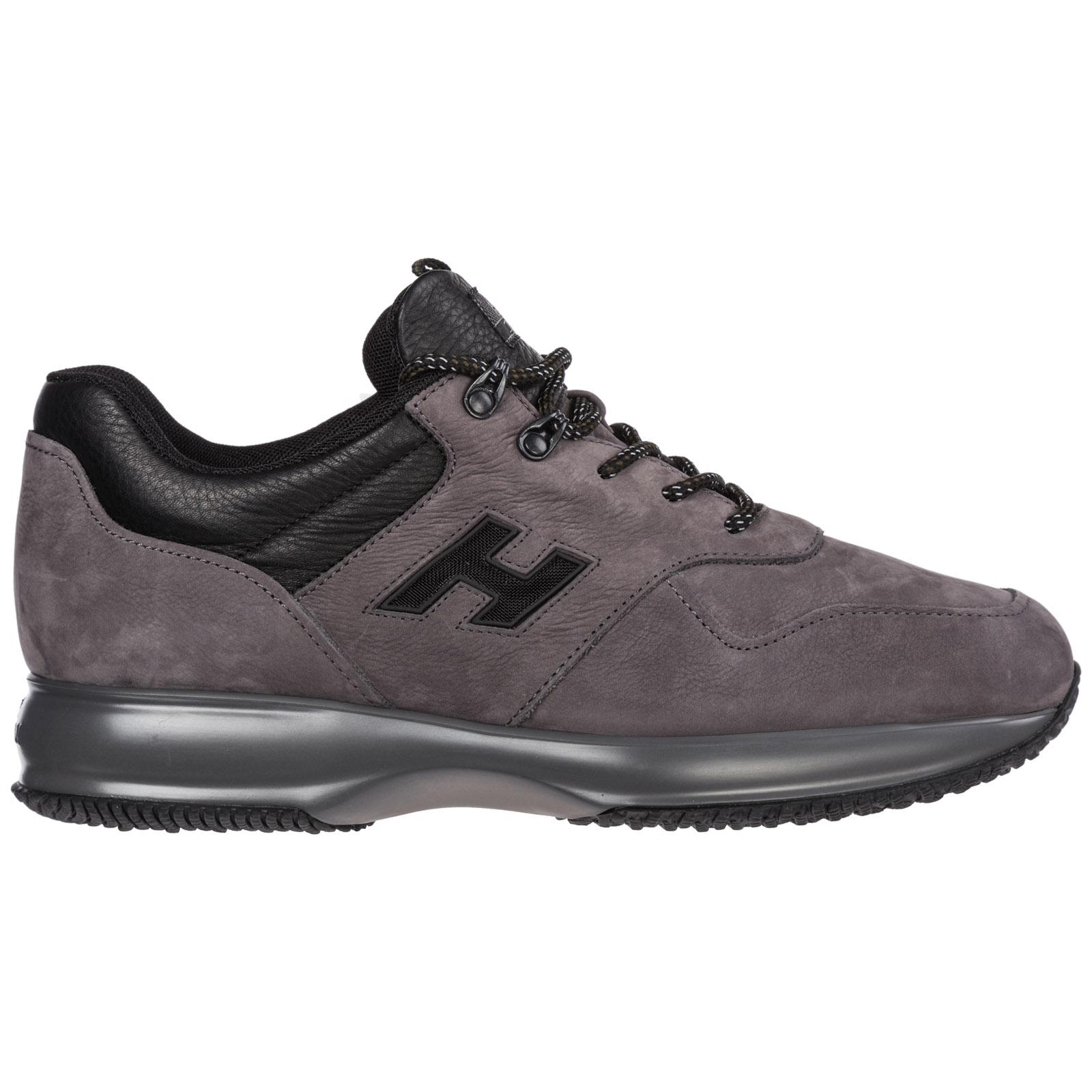 plus récent 31abf 88198 Chaussures baskets sneakers homme en cuir interactive