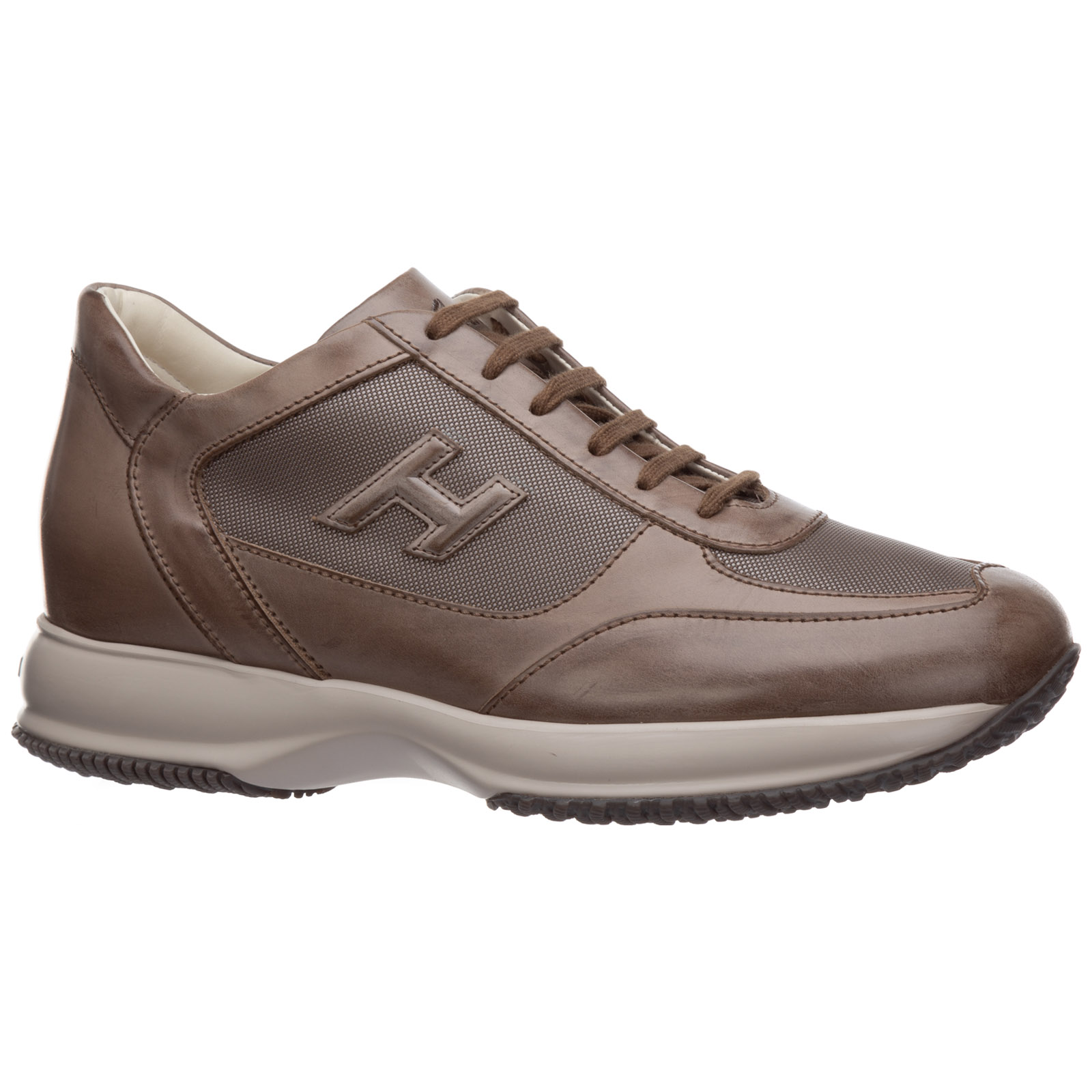 Men's shoes leather trainers sneakers interactive h3d