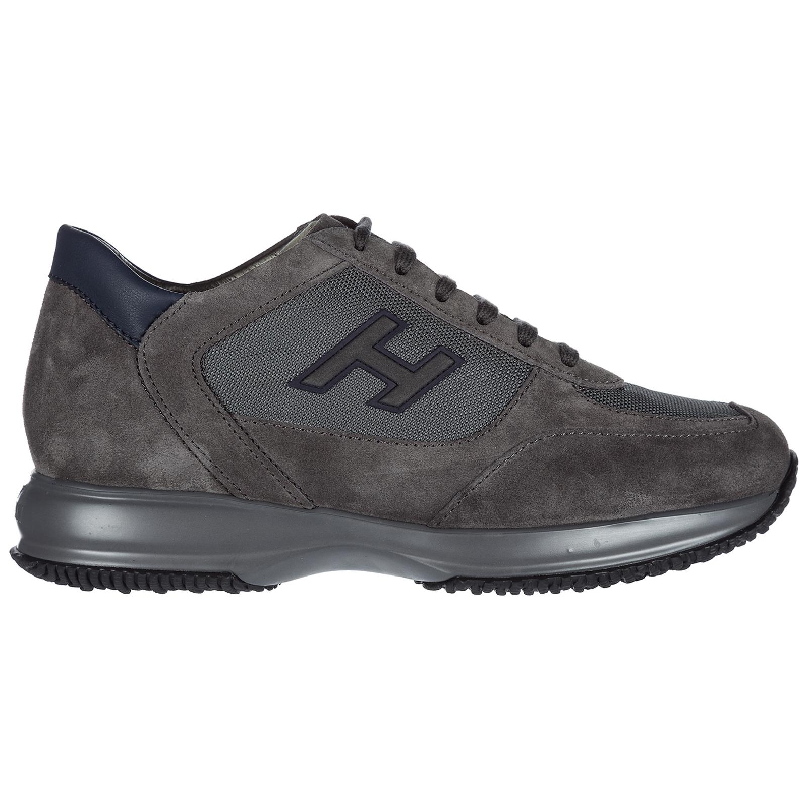 Scarpe sneakers uomo camoscio new interactive h flock ... e610c949a9e
