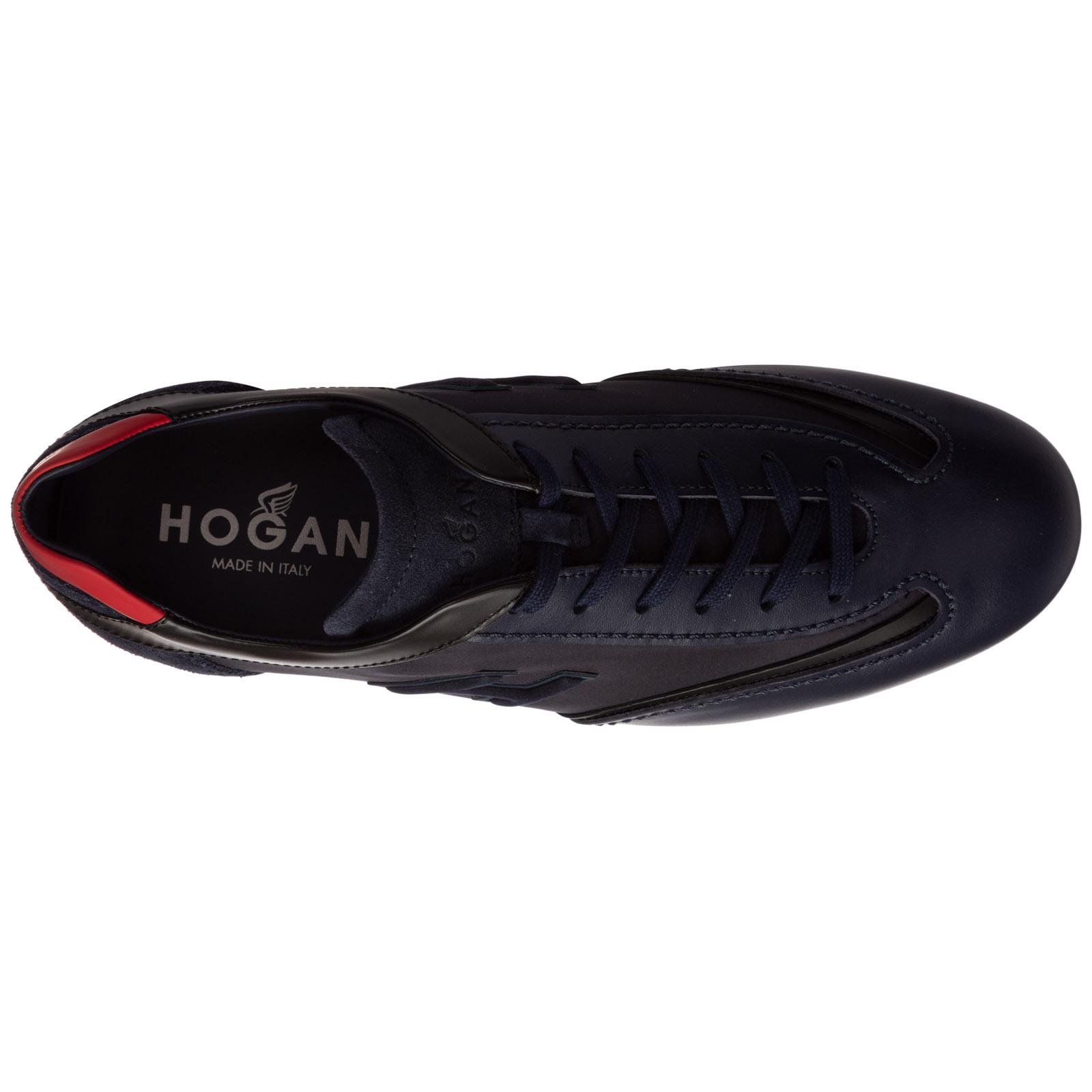 Sneakers Hogan olympia HXM05201686P9Y2RS0 blu | FRMODA.com