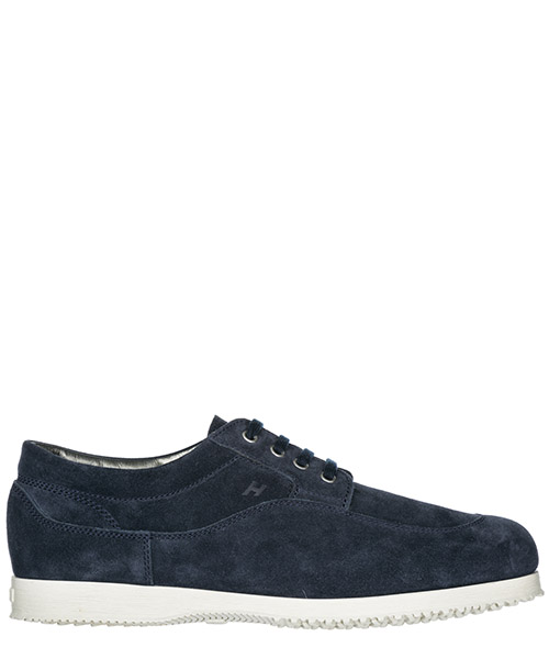 Men's classic suede lace up laced formal shoes traditional derby