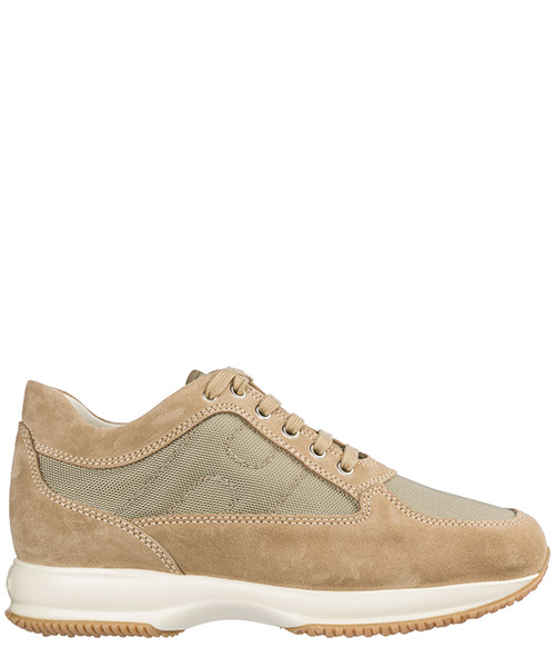 Men's shoes suede trainers sneakers interactive