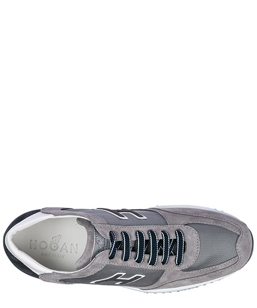 Men's shoes suede trainers sneakers interactive h flock secondary image