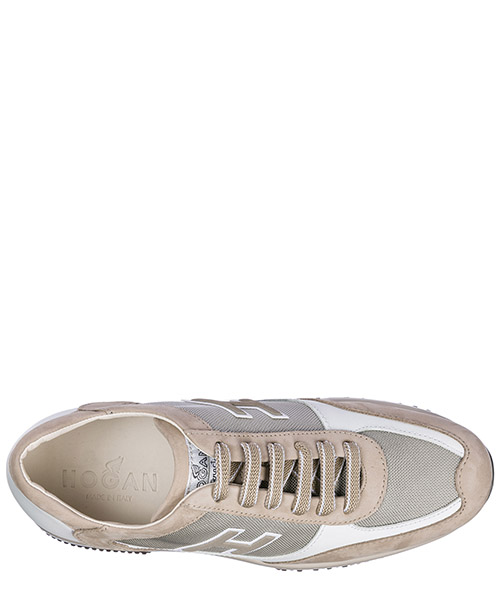 Scarpe sneakers uomo in pelle interactive h flock secondary image