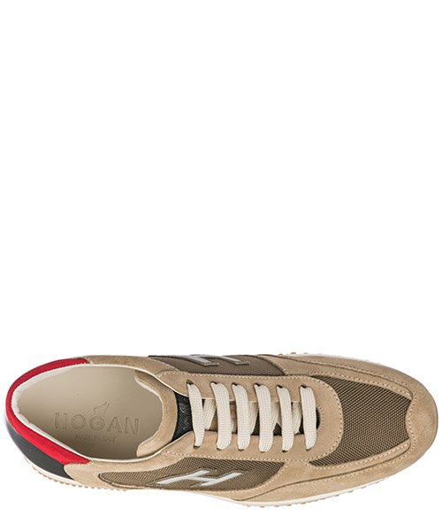 Men's shoes suede trainers sneakers interactive secondary image