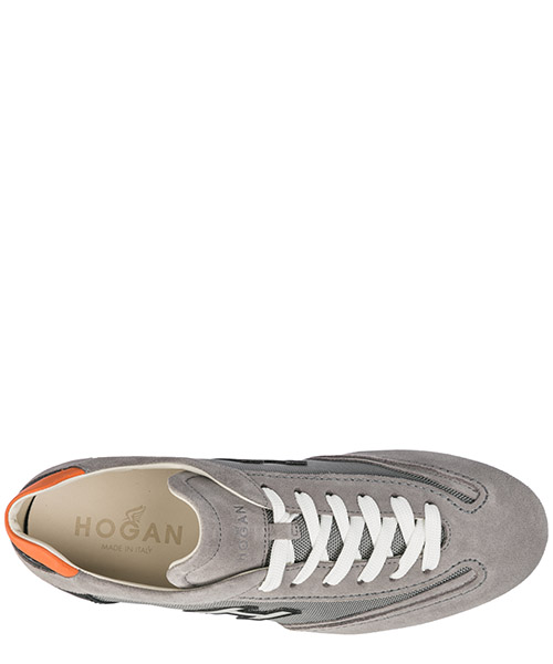 Men's shoes suede trainers sneakers olympia secondary image