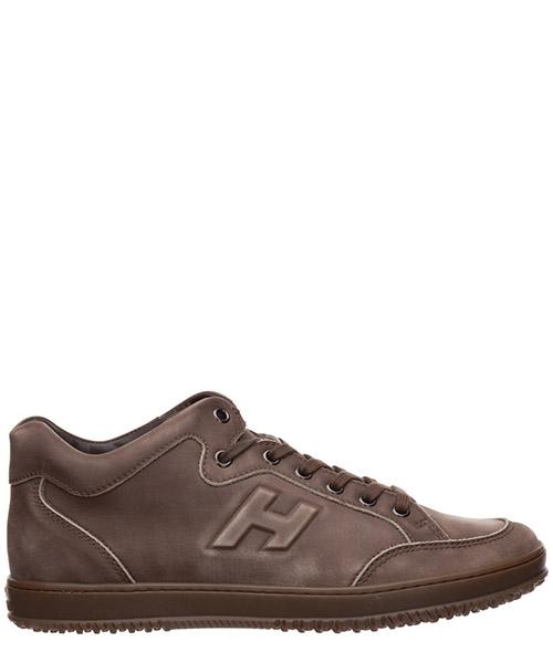Sneakers Hogan h168 HXM1680D210LNDC422 marrone