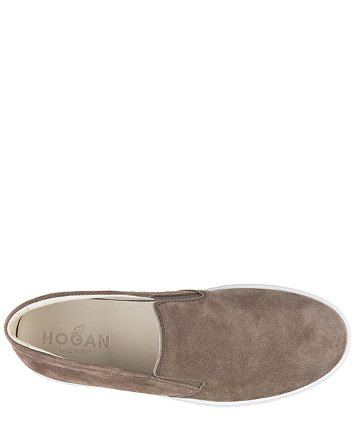 Men's suede slip on sneakers  h168 secondary image