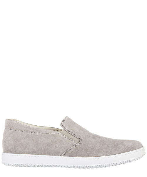 Slip on shoes Hogan HXM1680V100D54 grigio