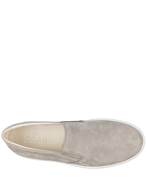 Slip on homme en daim sneakers  h168 secondary image