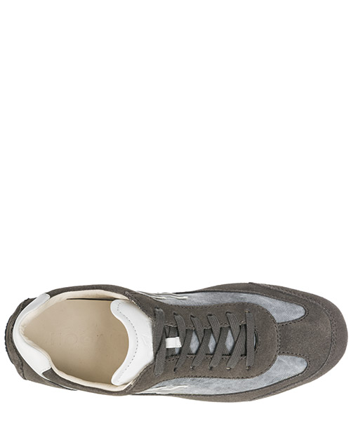 Men's shoes suede trainers sneakers fondo 185 secondary image