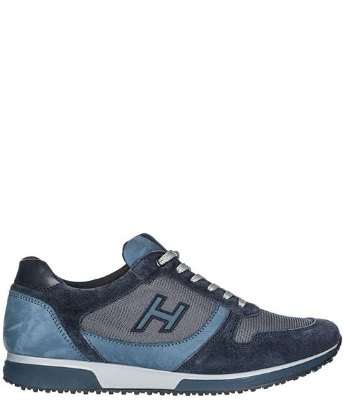 Sneakers Hogan H198 HXM1980R9709DZ681Q blu
