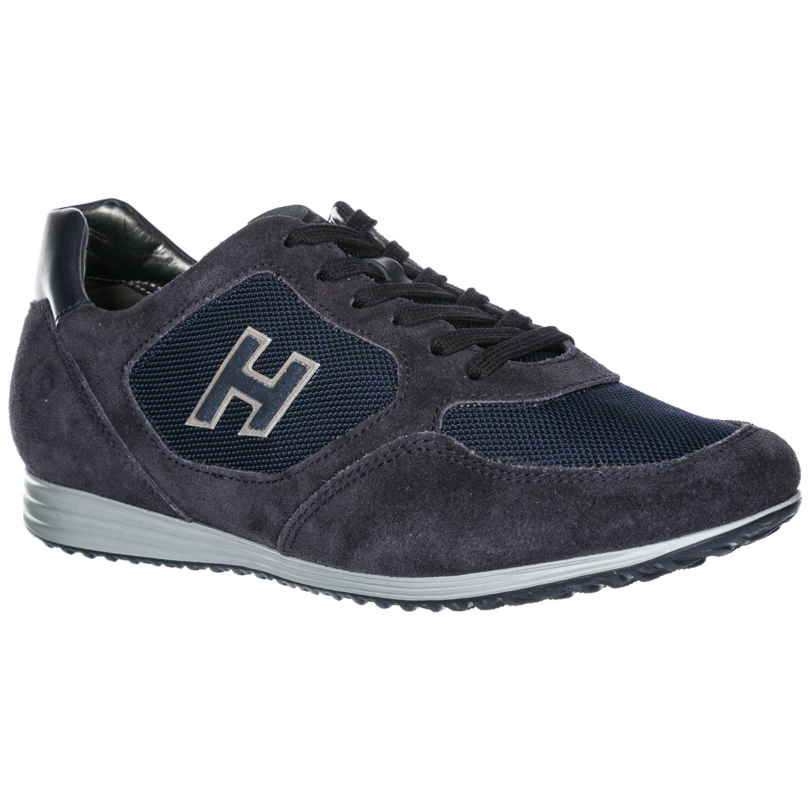 Sneakers Hogan Olympia X - H205 HXM2050Q1508CW2264 blu notte ... 9c9236663d5