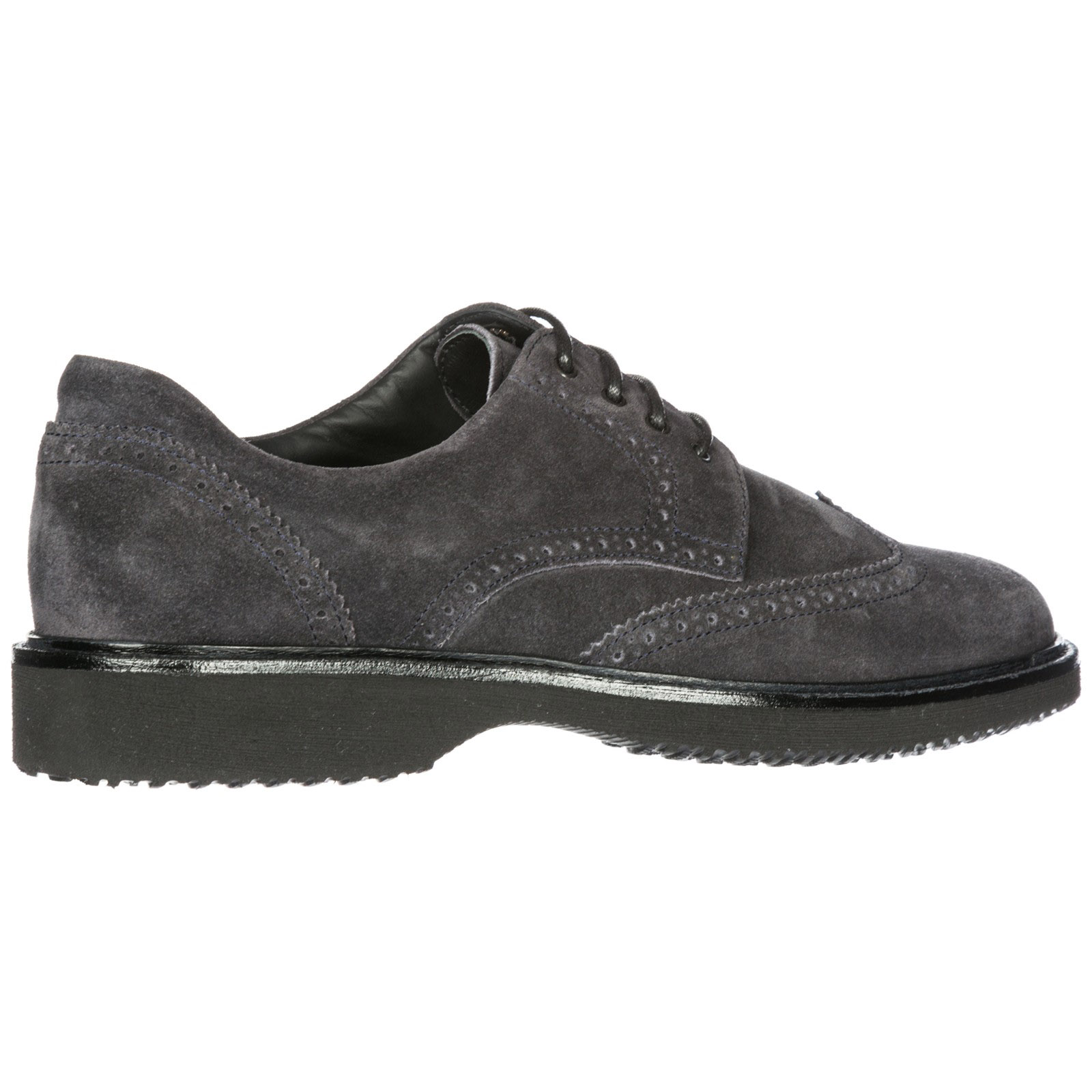 Men's classic suede lace up laced formal shoes derby h217