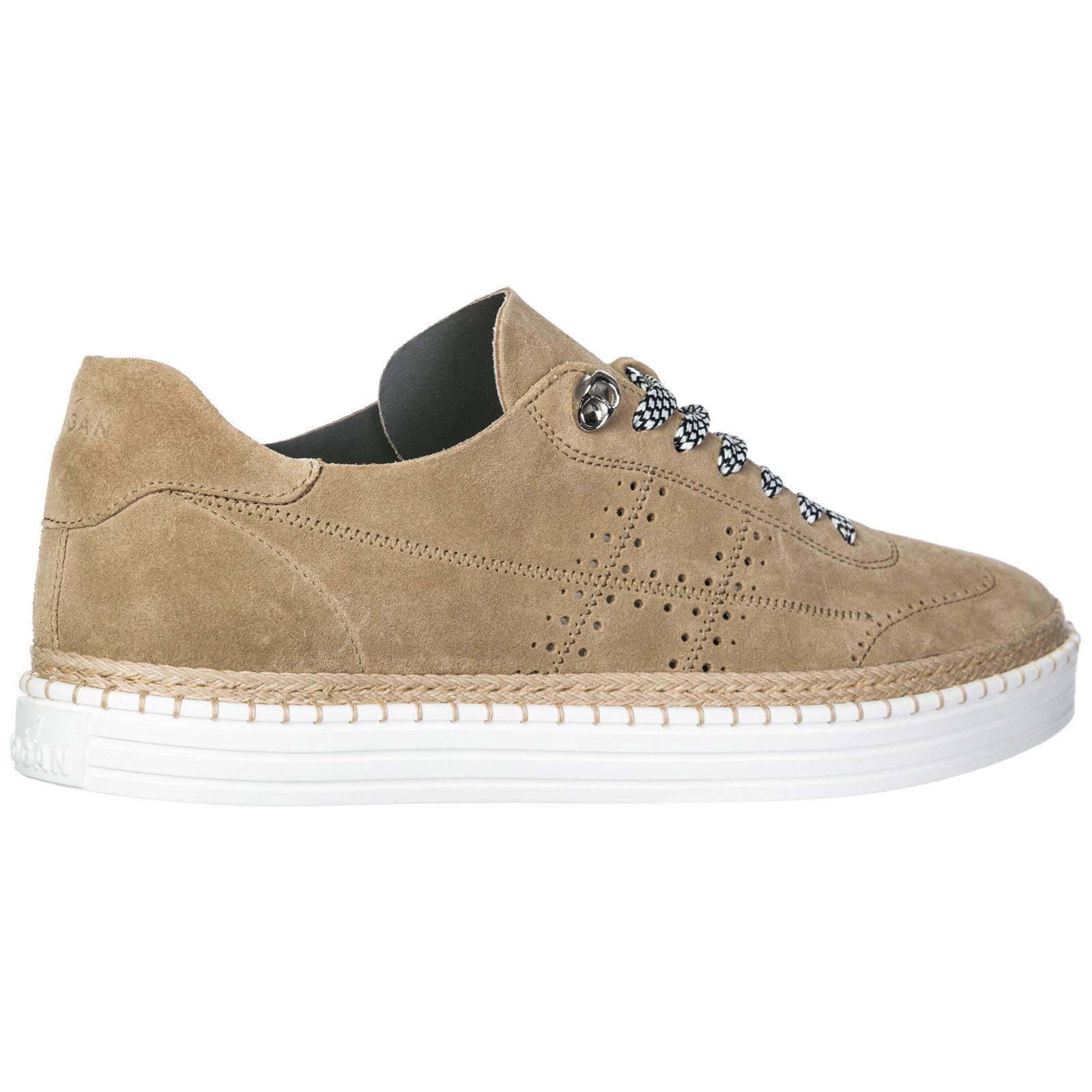 a50e8d1b040ae Sneakers Hogan R260 HXM2600K850I9SC808 biscotto medio