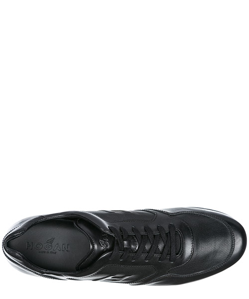 Herrenschuhe herren leder schuhe sneakers h205 olympia secondary image