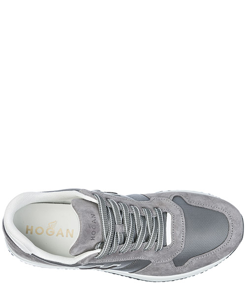 Chaussures baskets sneakers homme en daim interactive n20 secondary image