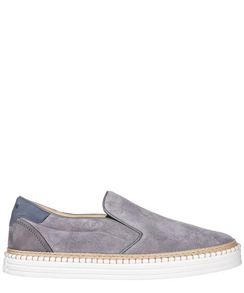 Slip on shoes Hogan R260 HXM2600J380FM6573L grigio
