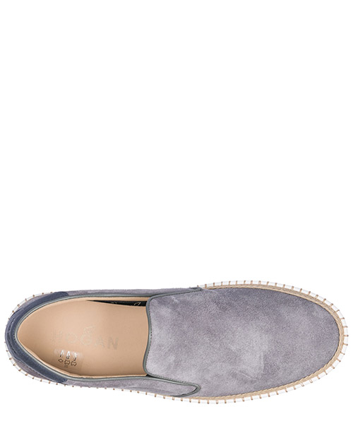 Slip on uomo in camoscio sneakers  r260 secondary image
