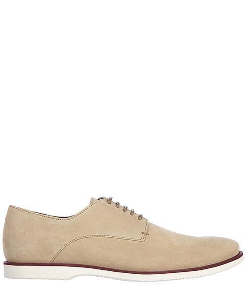 Zapatos con cordones Hogan H262 HXM2620R100HG0C803 beige