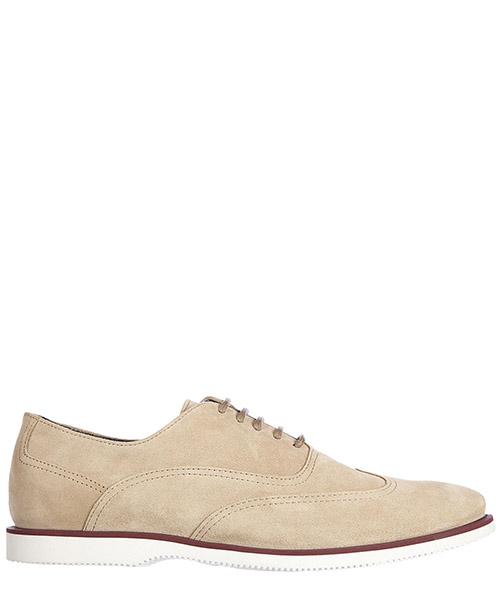 Zapatos con cordones Hogan H262 HXM2620R110HG0C803 beige