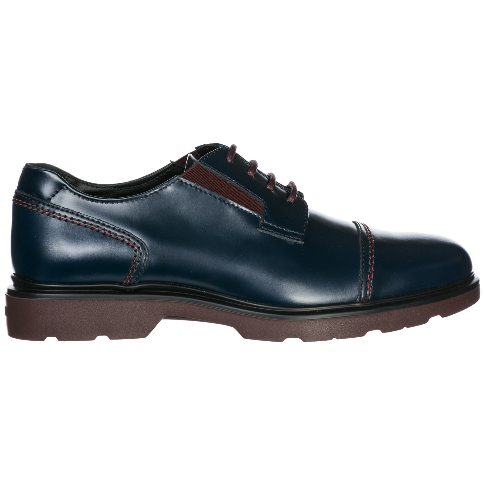 Men's classic leather lace up laced formal shoes h304 derby