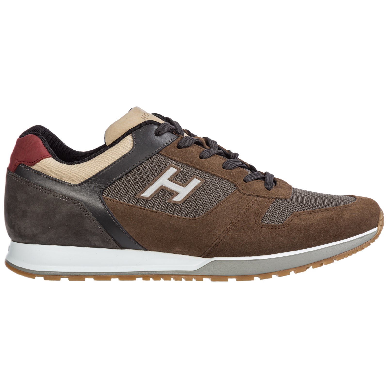 Men's shoes suede trainers sneakers h321