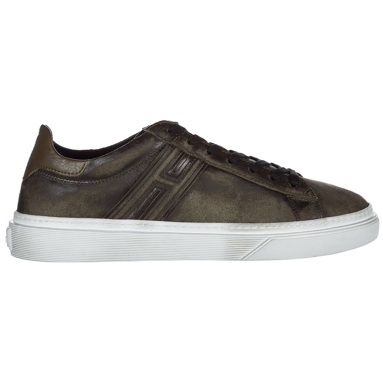 the latest 96333 d502b Scarpe sneakers uomo in pelle h340