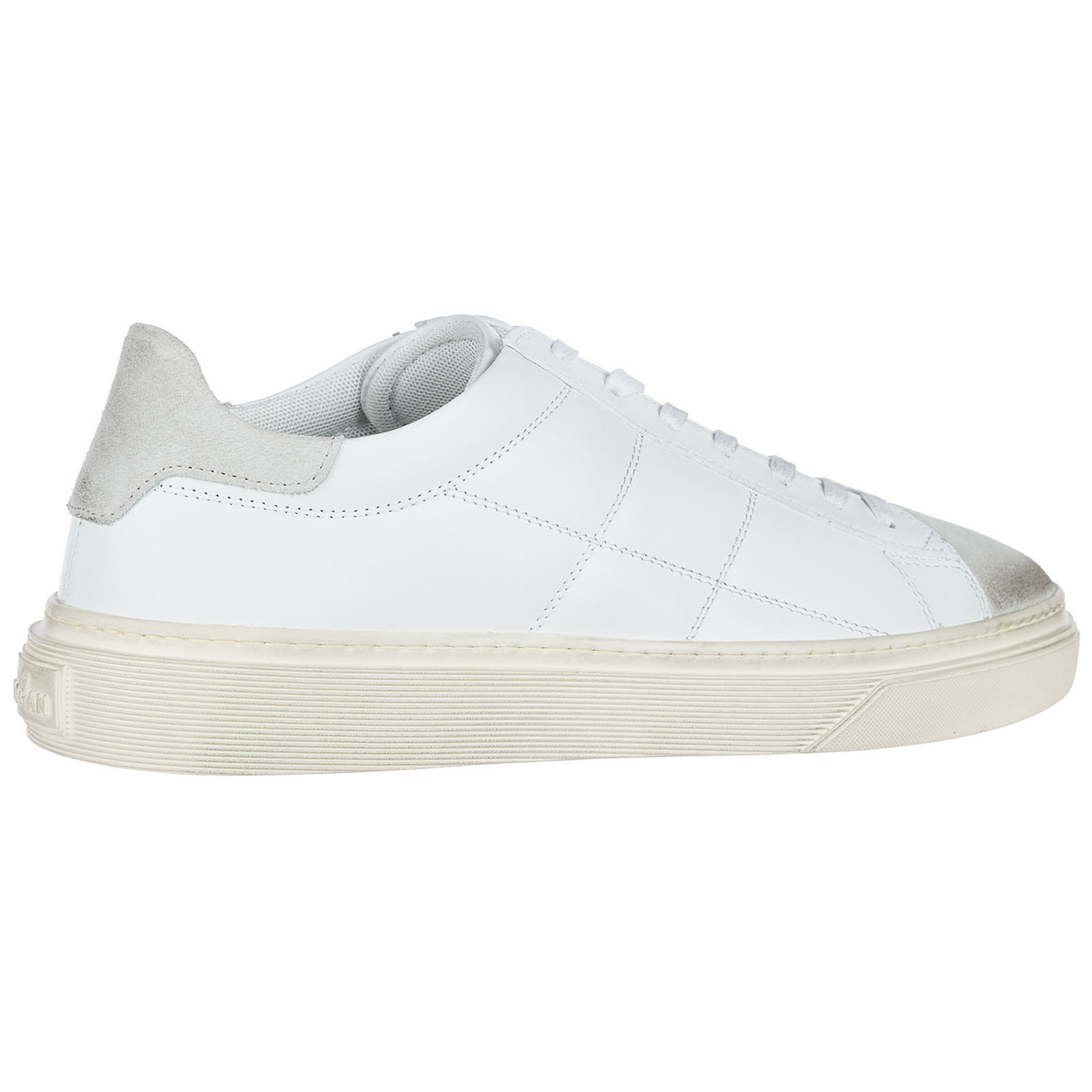Men's shoes leather trainers sneakers h340