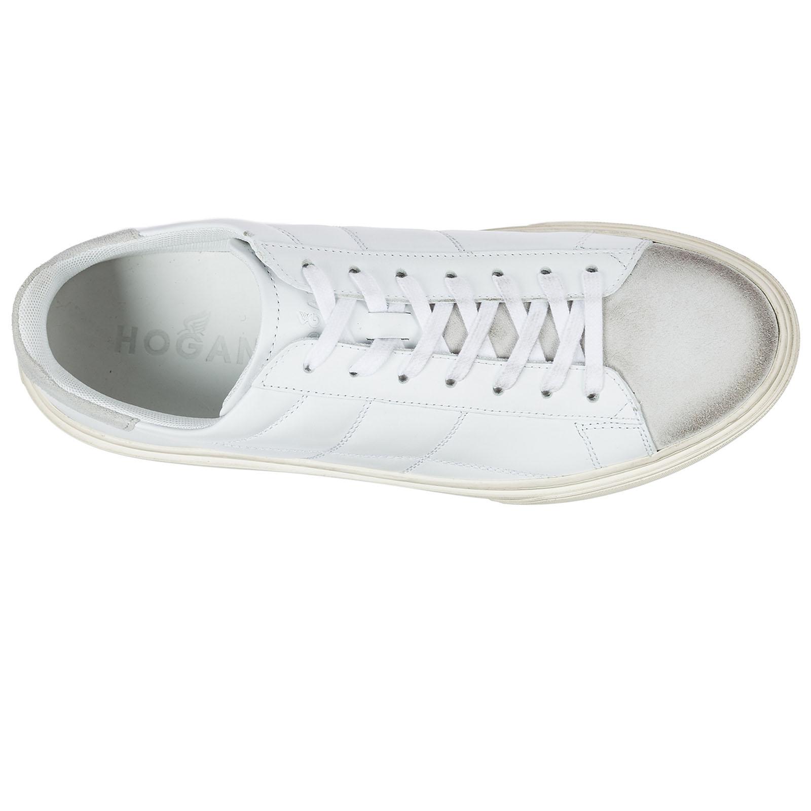 Scarpe sneakers uomo in pelle h340