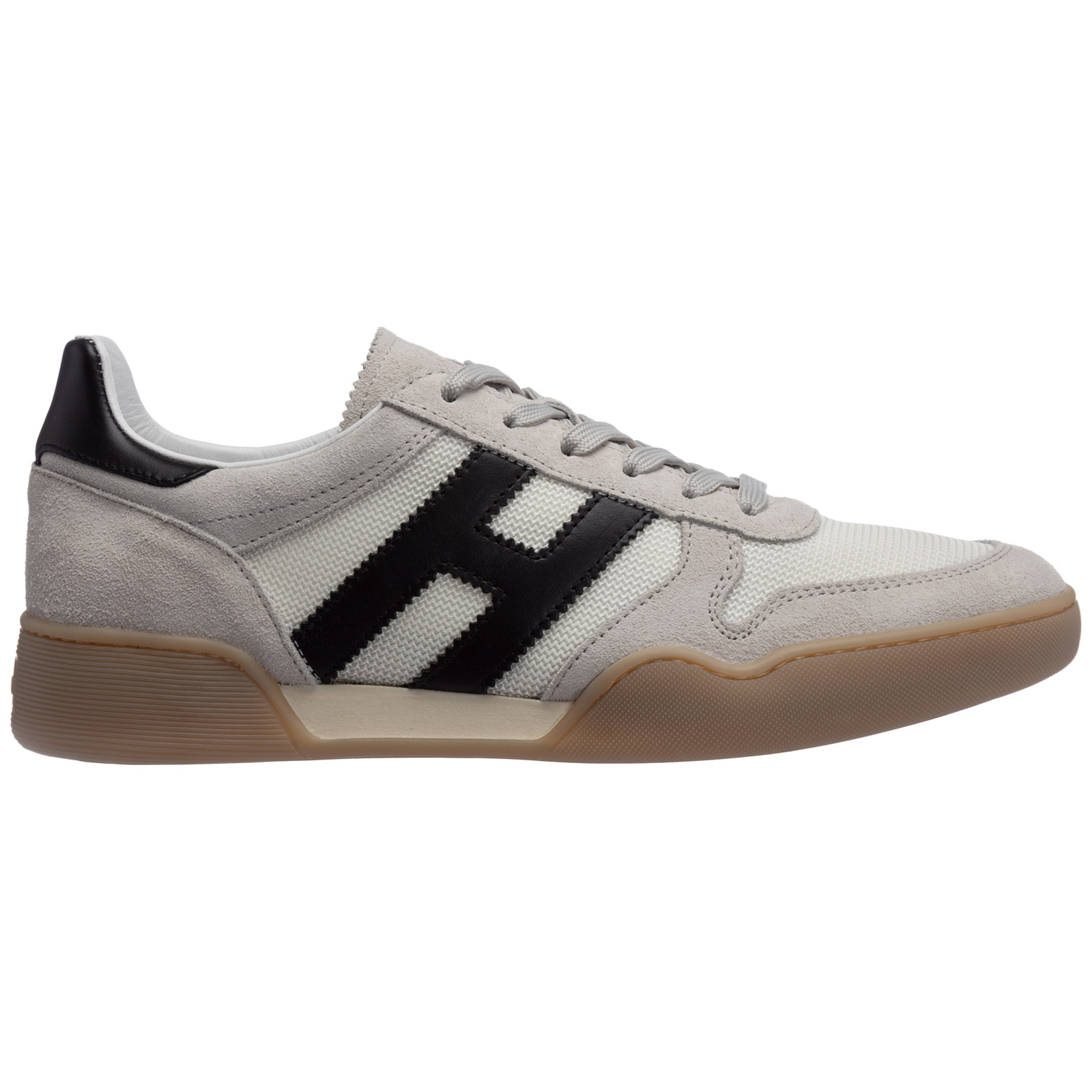 Men's shoes leather trainers sneakers h357
