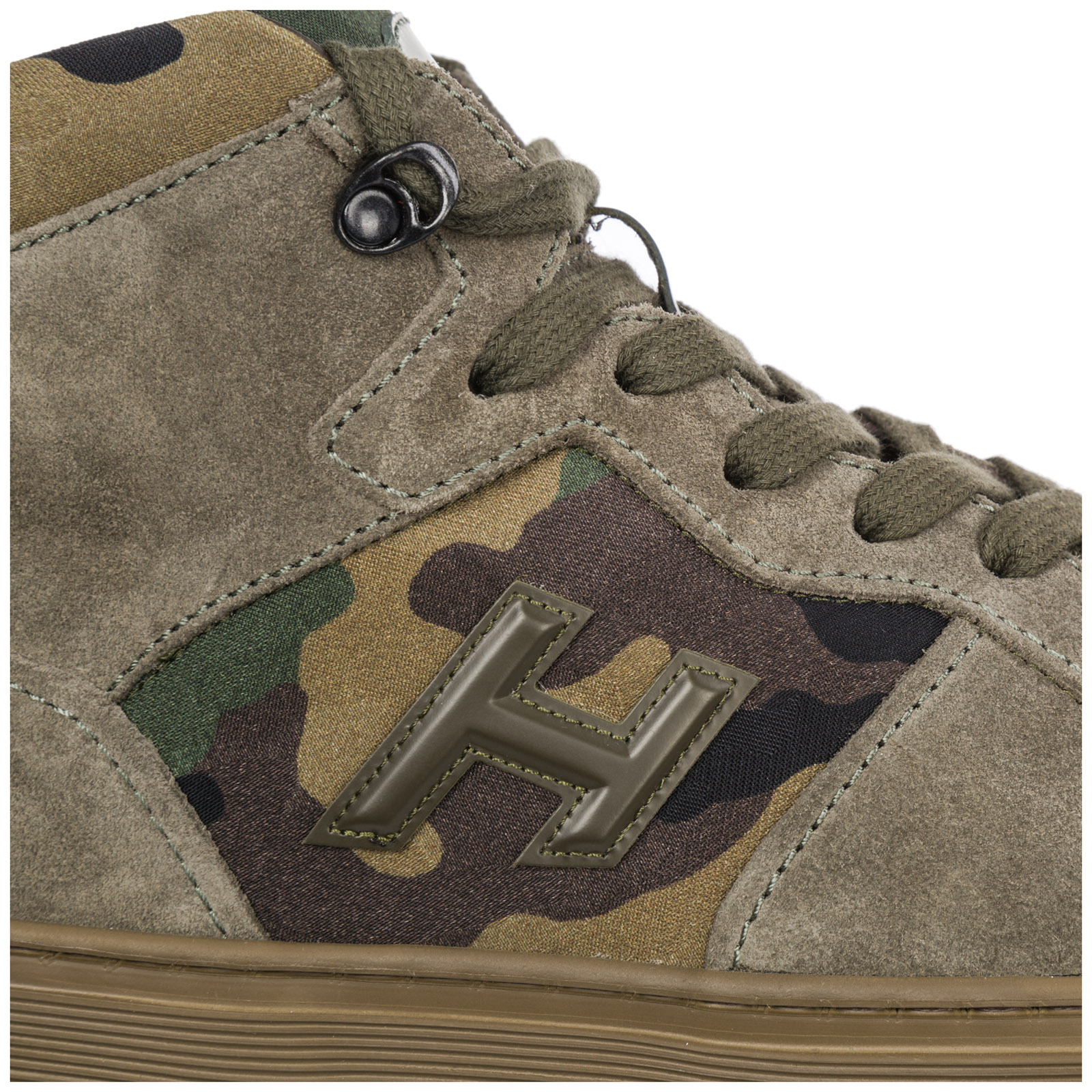 Men's shoes high top suede trainers sneakers h365