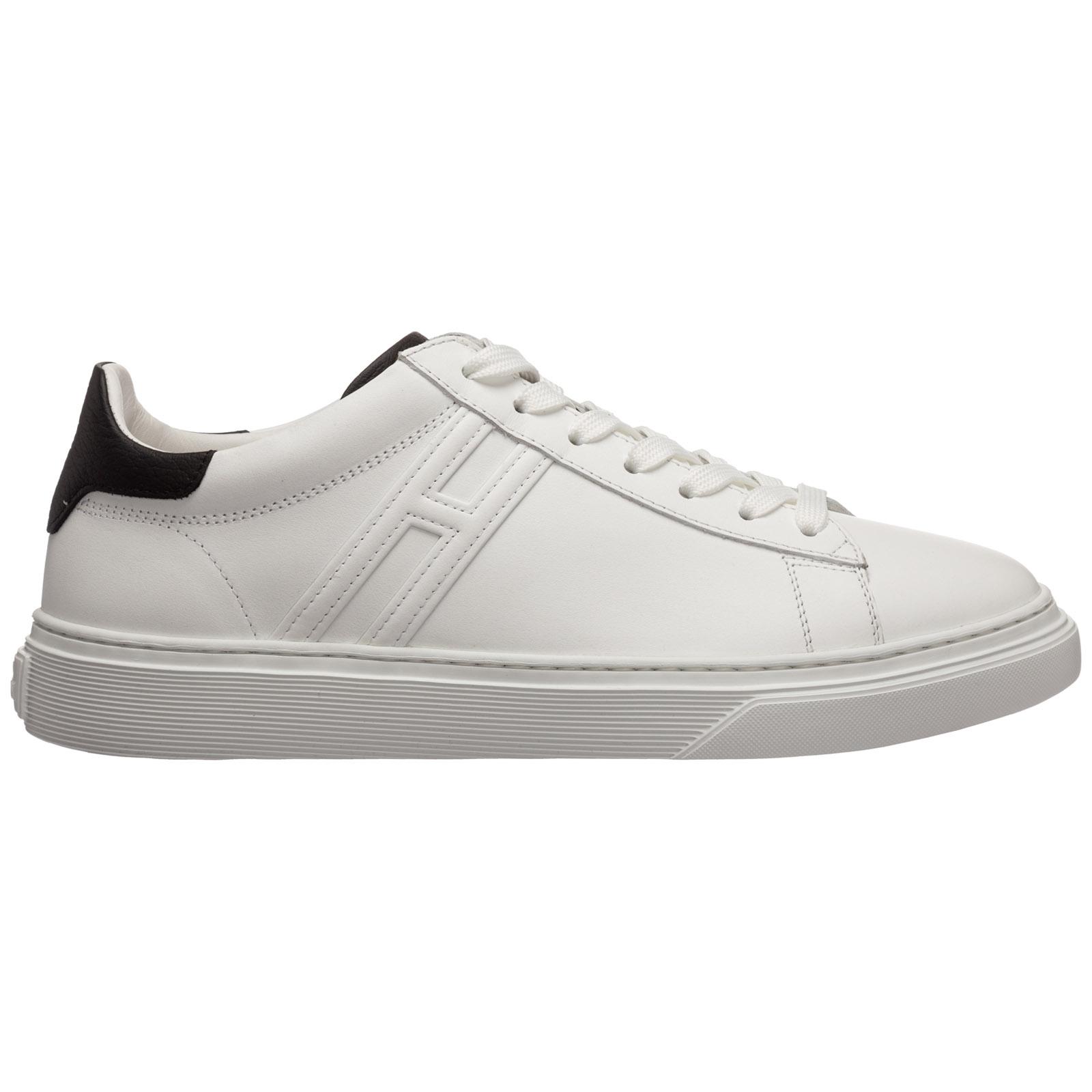 Scarpe sneakers uomo in pelle h365