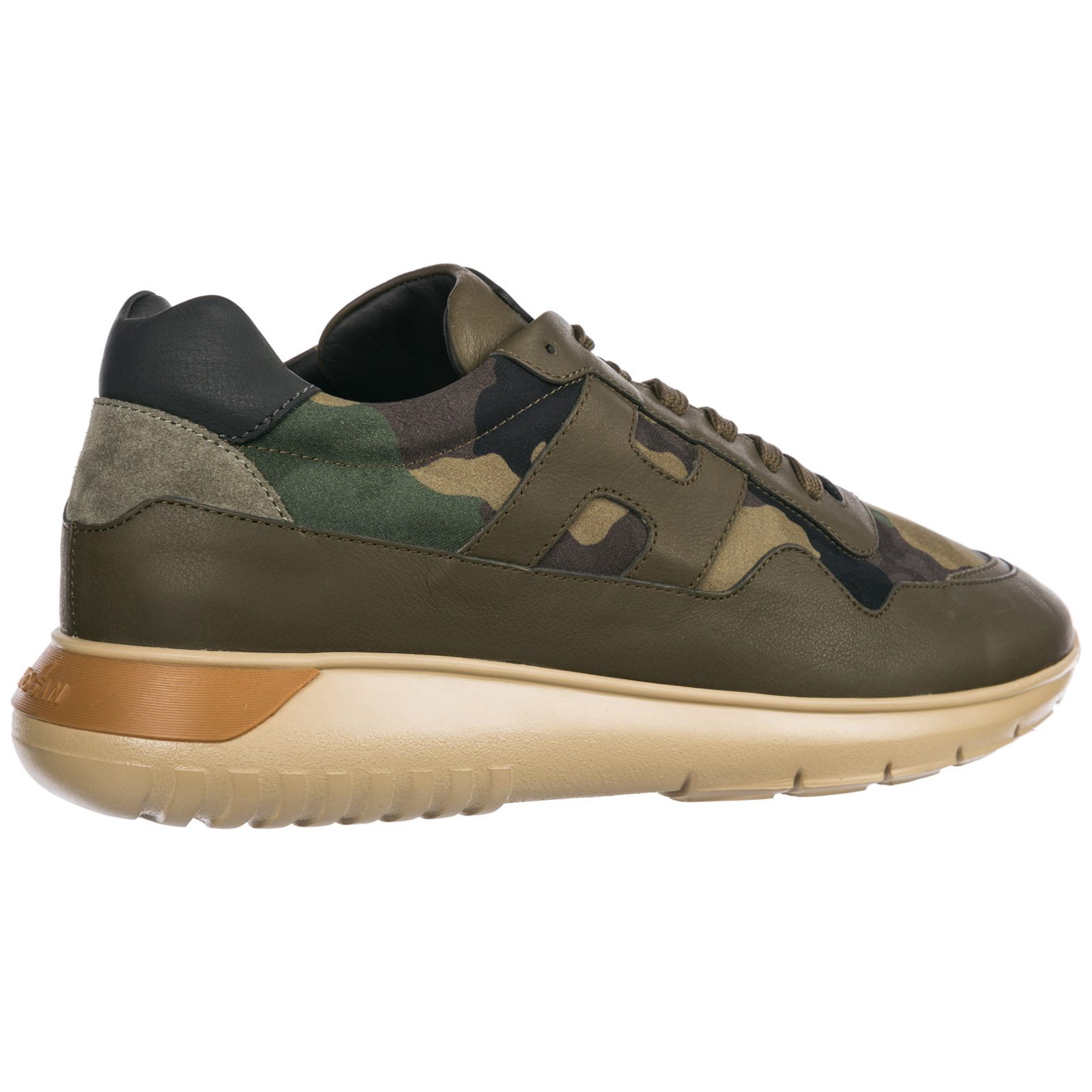 58b8ad2bf35e3 Sneakers Hogan Interactive³ HXM3710AJ11JFT249N verde | FRMODA.com