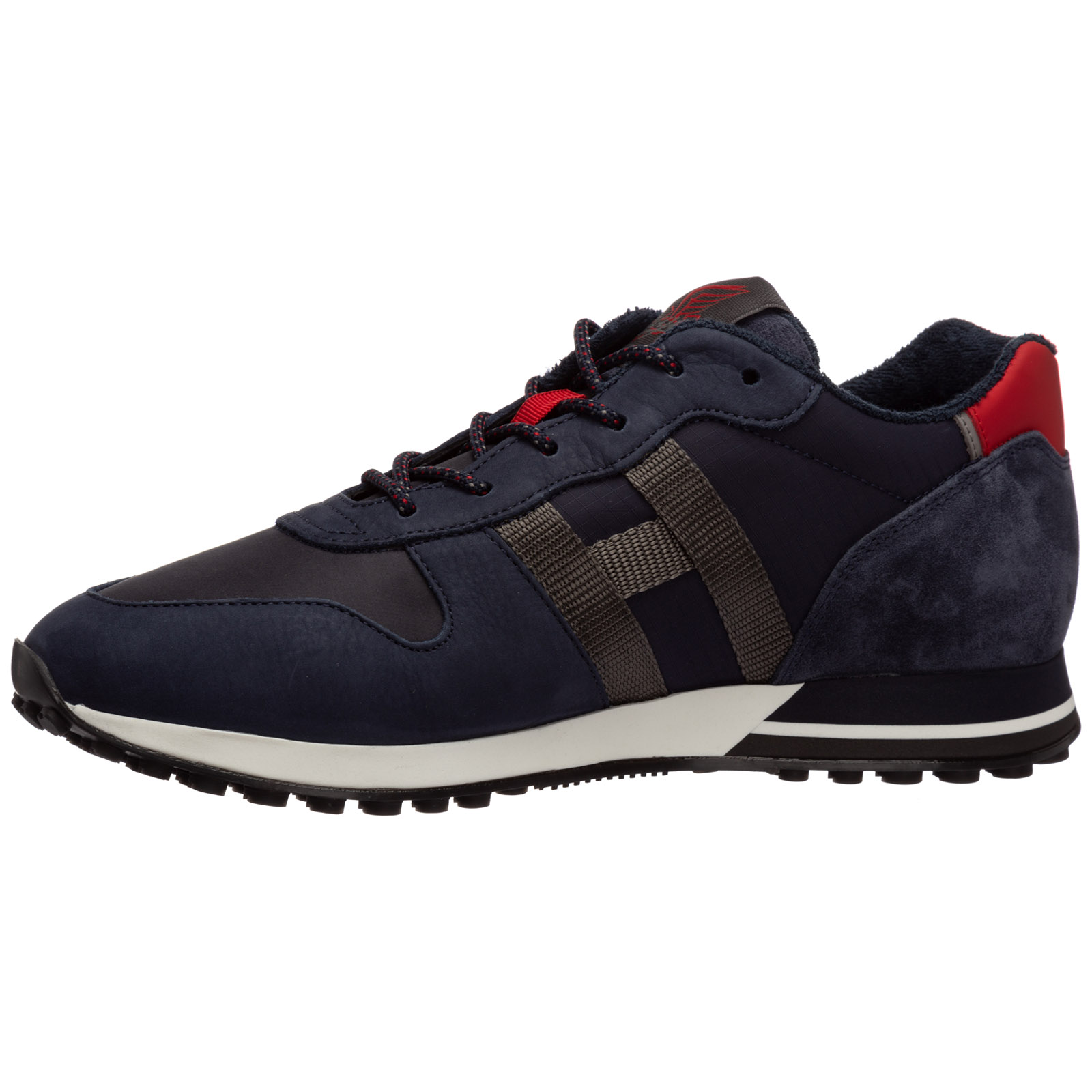 Scarpe sneakers uomo in pelle h383