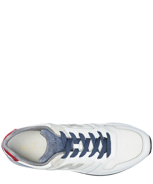 Chaussures baskets sneakers homme en cuir h321 secondary image