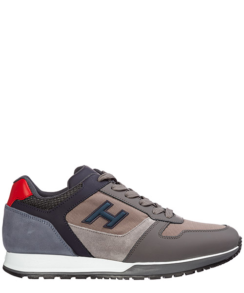 Sneaker Hogan h321 hxm3210y860lik50b8 grigio