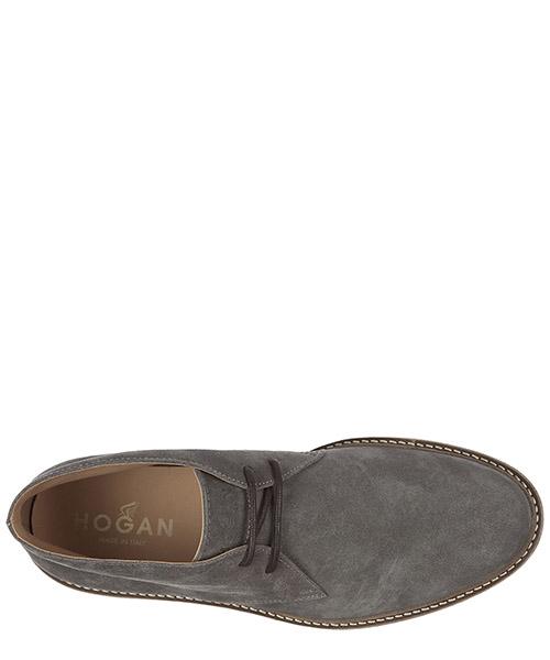 Polacchine stivaletti scarpe uomo camoscio h322 secondary image