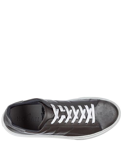 Zapatos zapatillas de deporte hombres en piel h340 secondary image