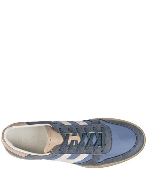 Zapatos zapatillas de deporte hombres en piel h357 secondary image