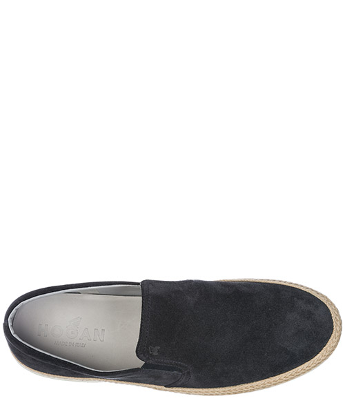 Slip on homme en daim sneakers  h358 secondary image