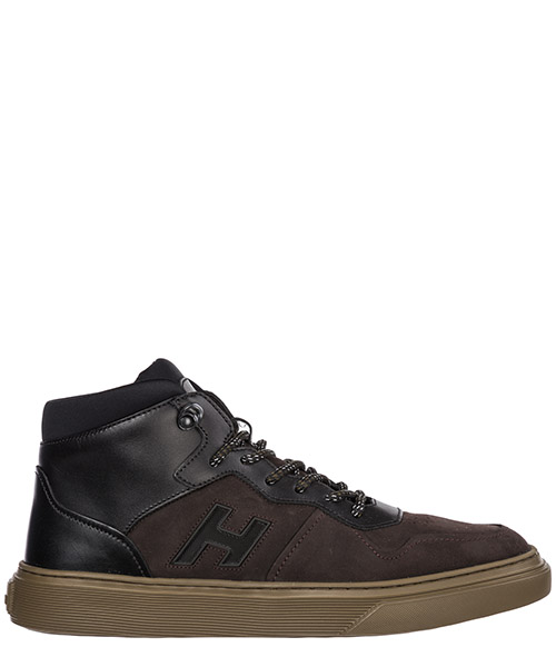 High-top sneakers Hogan h365 hxm3650am50jfj1117 marrone
