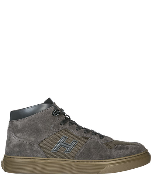 High top sneakers Hogan H365 HXM3650AM70JGF983L grigio