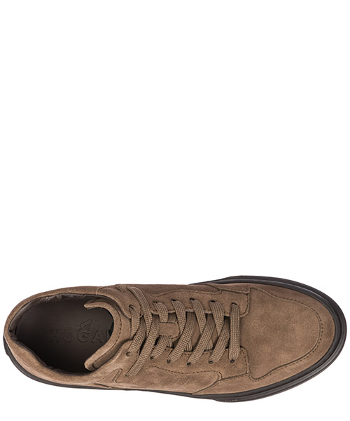 Men's shoes suede trainers sneakers h365 secondary image