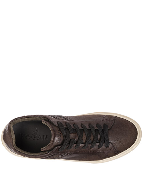 Chaussures baskets sneakers homme en cuir h365 secondary image