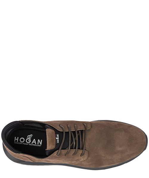 Bottines demi-bottes homme en daim interactive3 secondary image