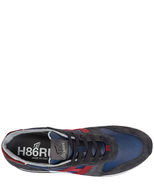 Chaussures baskets sneakers homme en daim h383 secondary image