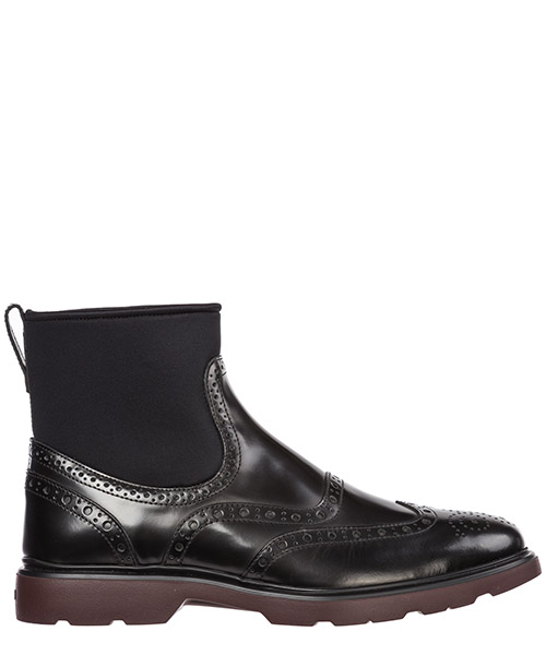 Bottines Hogan h393 hxm3930al90jfmb999 nero